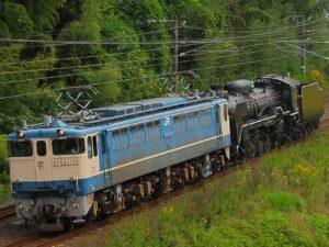 JR西日本 D51-200が配給輸送 梅小路から下関総合車両所新山口支所まで